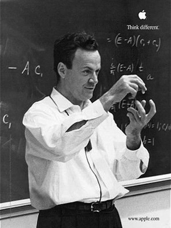 画像 : 【愛すべき物理学者】リチャード・P・ファインマン【神様のチェス】名言 - NAVER