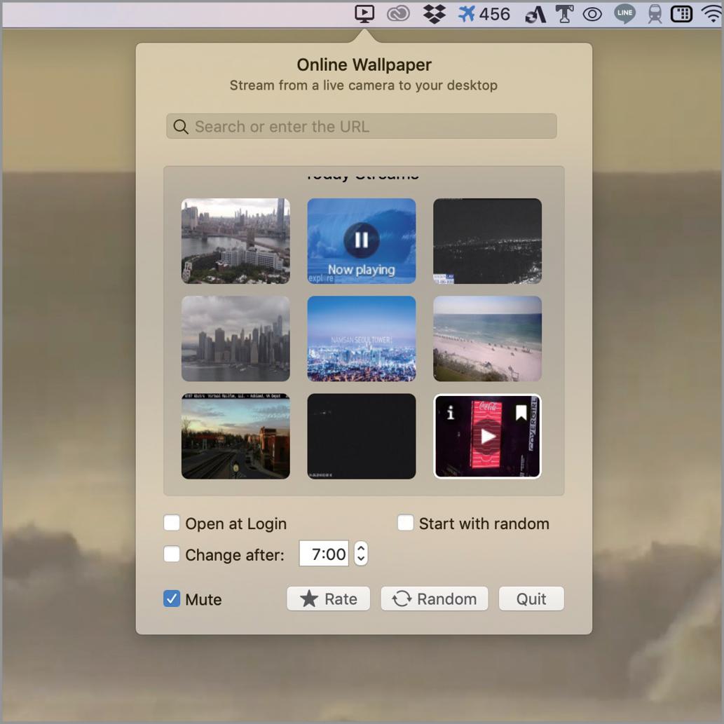 世界中の 今 をデスクトップの背景に Macfan