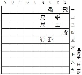藤井四段の詰将棋と解答|将棋情報局